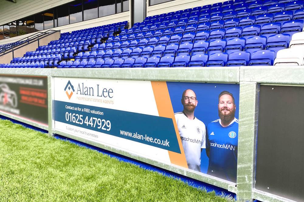 Alan Lee – Macclesfield Town FC banner